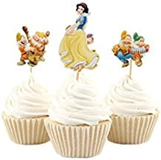 Best snow white cupcakes toppers Reviews