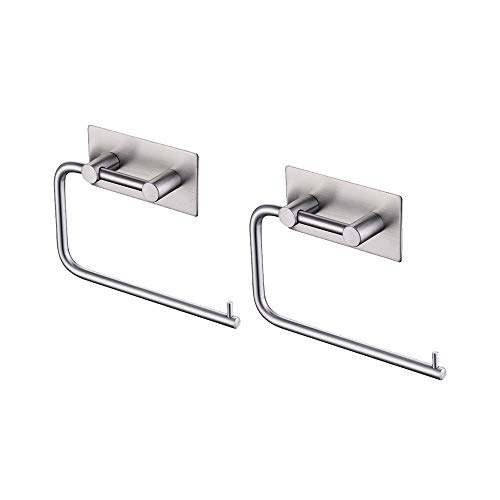 Top 10 best selling list for stainless steel 2 roll toilet paper holder residential size