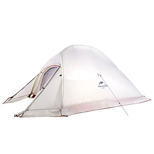 Naturehike Cloud-Up 2 and 3 Person Lightweight Backpacking Tent with...