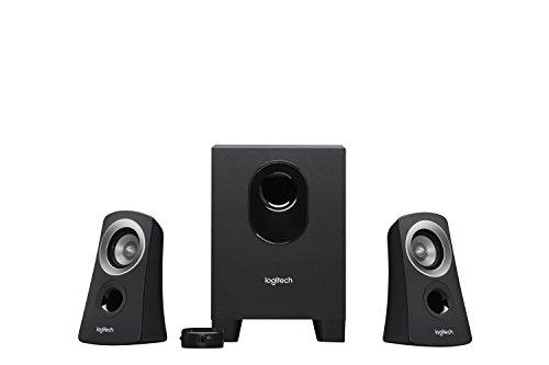 Logitech Speaker System Z313 2.1 PC-Lautsprecher Kabelgebunden 25W Schwarz