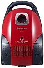 MC-CG521R747-Panasonic Vacuum Cleaner 1400W, 4.0L Dust Bag Capacity Red/Black, Flexible Power Adjuster, Blower Funtion, Ma...