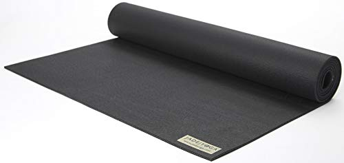 "Jade Yoga - Harmony Yoga Mat (3/16"" Thick x 24"" Wide x 71"" Long - Color: Black)"