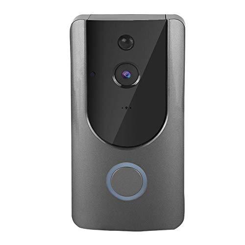 Demeras Videoportero 720P WiFi IP Smart Videoportero inalámbrico Intercomunicador Cámara Visible para Seguridad en el hogar