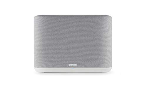 Denon Home 250 Multiroom-Lautsprecher, HiFi Lautsprecher mit HEOS Built-in, WLAN, Bluetooth, USB, AirPlay 2, Hi-Res Audio, Alexa kompatibel, weiß