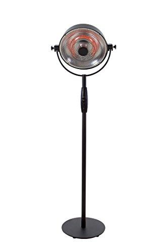 Sunred Retro Sphere Standmodell 2100 W Carbon Fibre, schwarz, 48 x 48 x 200 cm, RSS16
