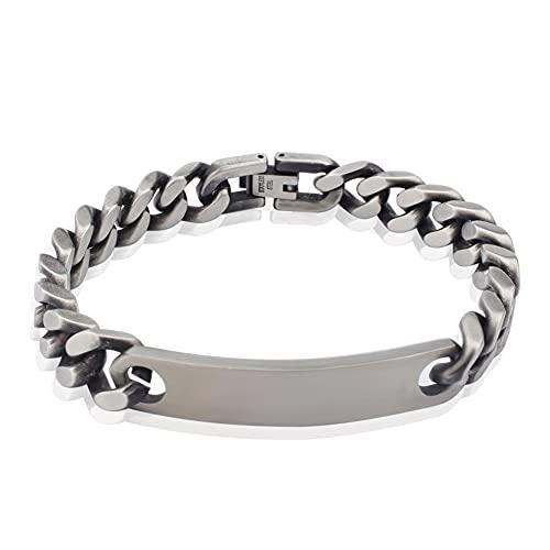 CCGHSL Clásico liso pulsera de los hombres pulsera de los hombres de ancho pulsera de la cadena pulseras envío de