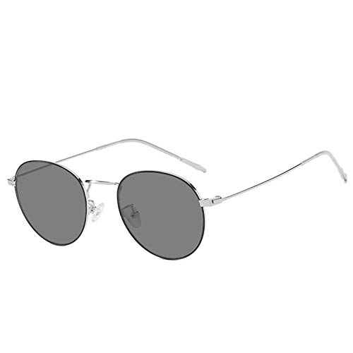 Marjory Gafas de sol 2 en 1 ópticas antiluz azul, fotocromáticas, retro, para hombre y mujer