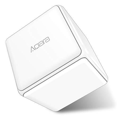 Hangrui per Aqara Cube, Controller Magic Cube 6 Gesti Personalizzabili per Controllare Dispositivi Smart Home, Richiede hub Aqara, Connessione WIFI Zigbee