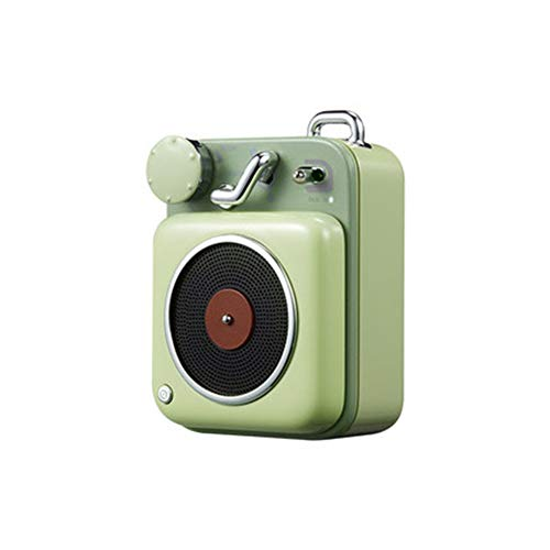 WSY Atomic Plattenspieler B612 Tragbare Mini-Lautsprecher Bluetooth Intelligent Audio Pocket-Smart-Lautsprecher-Musik,B
