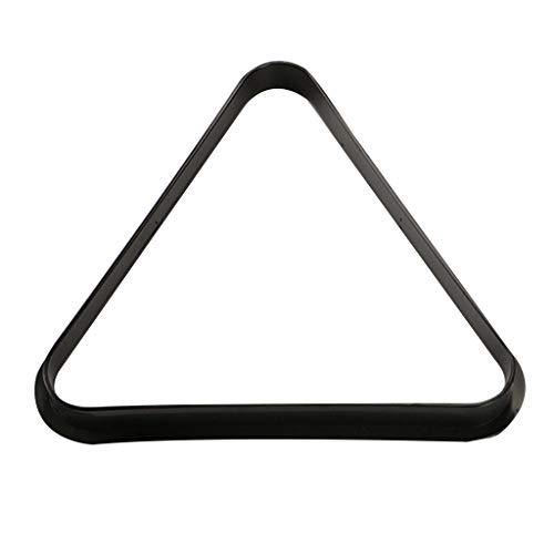 Rtengtunn Bolas de billar inglés de plástico en forma de triángulo organizan estantes resistentes de Snooker Game Club accesorio de almacenamiento