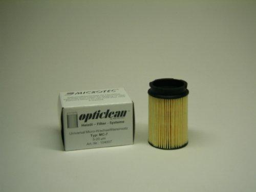 Heizölfilter Opticlean Universal Micro-Wechselfiltereinsatz Ölfilter MC-7