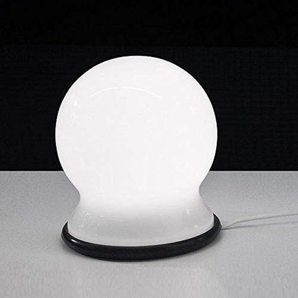 Martinelli luce scafandro, lampada da tavolo,in gomma, vetro soffiato 806/16