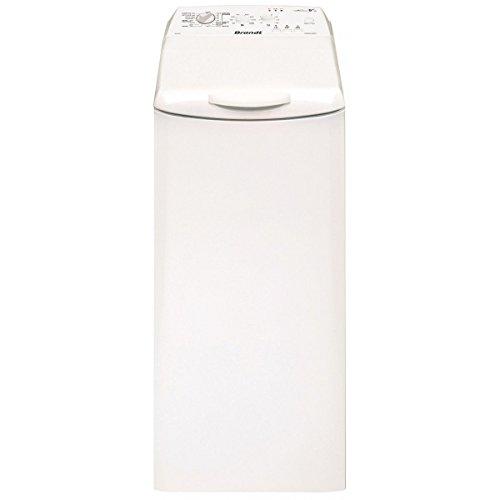 Brandt BWT652T Autonome Charge supérieure 6.5kg 1200tr/min A+++ Blanc machine à laver - Machines à laver (Autonome, Charge supérieure, Blanc, Haut, LED, Acier inoxydable)