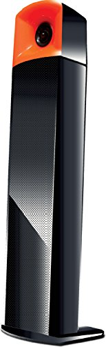 Flow Soundbar Standing Stick 2.0 Multimedia Speaker-Aux Connectivity (Black)