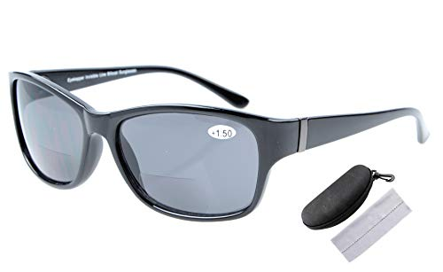 Eyekepper Bi-Focal Sunshine Readers Mode Bifocal Zonnebril +1.50 Polarized Black