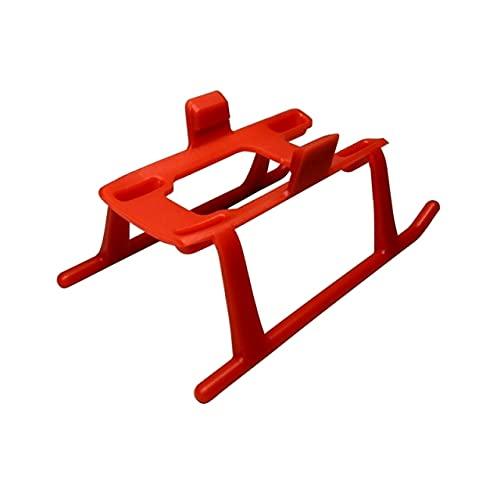 JIJIONG Carrello di atterraggio per DJI Spark Drone 3CM Altezza Gambe estensibili Piedini Leggeri a sgancio rapido Parti protettive Accessorio di Protezione ( Color : Red )