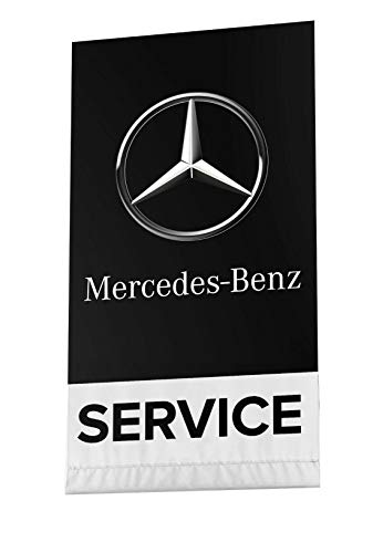 Flag Mercedes Benz Banner 3x5ft Car Racing Service Garage SL-Class E-Class AMG