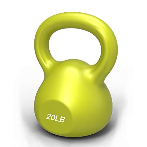 LOFAMI Mancuerna Mancuernas Dumbbell Dumbbells Ejercicios de Fuerza de Entrenamiento Kettlebells Home Gym Fitness (5lb, 10lb, 15lb, 20lb) Mancuerna Mancuernas Dumbbell Dumbbells (tamaño : 20lb)