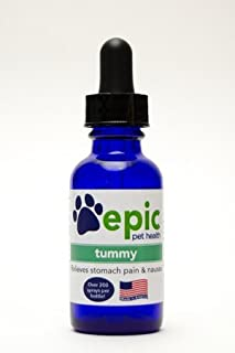 Tummy Natural Electrolyte Odorless Pet Supplement That Relieves Stomach Pain and Nausea. Made in USA