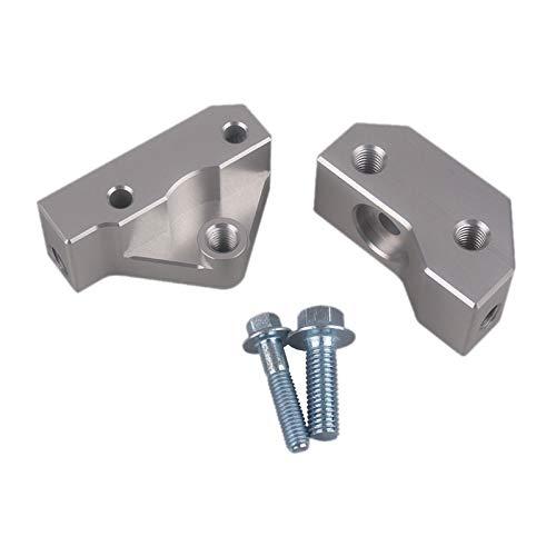 TISHITA Los soportes de reubicación del Sensor de los vehículos de Metal Premium nuevos de 1 par reemplazan las piezas convenientes para la instalación