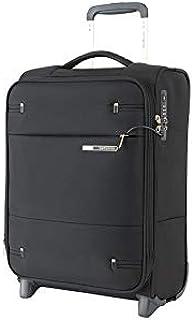 Samsonite 109254 Base Boost 2 Upright Expandable Suitcase, Black, 50 Centimeters