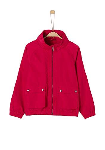 s.Oliver Mädchen 73.903.51.4414 Jacke, Rot (Red 3334), 140 (Herstellergröße: S)