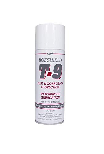 Boeshield T-9 Rust & Corrosion Protection/Inhibitor and Waterproof Lubrication, 12 oz. (.0 1, Lubricant)