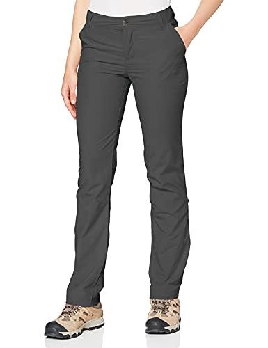 Columbia Silver Ridge 2.0 Pantalón de Senderismo Nailon, Mujer, Gris (Grill), Talla US W12/L/ (EU...