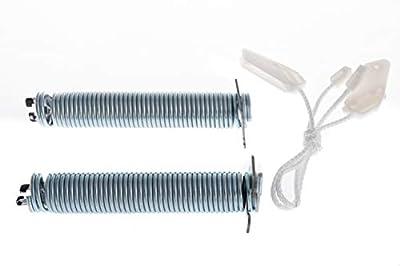 daniplus© Repair Kit No. 00754869 Door Hinge, Spring, Cable Pull - Suitable for Bosch Siemens Viva Washing Machine / Dishwasher
