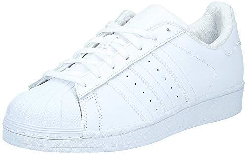 adidas Originals Men's Superstar Foundation Casual Sneaker, White/Running White/White, 8.5 M US