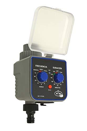 SYM 590054 S&M 590054-Programmateur de Robinet 1 Sortie pour arrosage Automatique H-M 3/4\