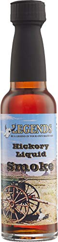 Legends Flüssigrauch Liquid Smoke Hickory 100ml vegan