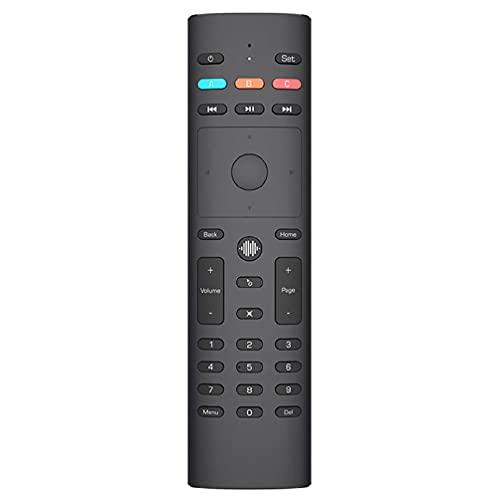 dedepeng 2021 G40 - Localizador de voz por infrarrojos, giroscopio, mando a distancia, 33 teclas, 3 modos, para TV Box Voice Air Remote Mouse 2 4 GHz