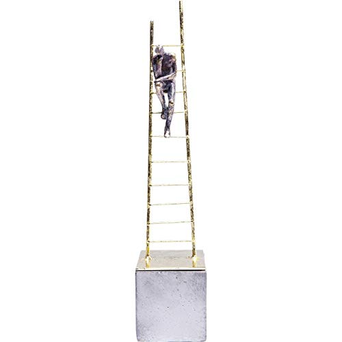 Kare Oggetto Decorativo Elements Climbing Man, Oro, 40.5 x 8.5 x 8.5 cm