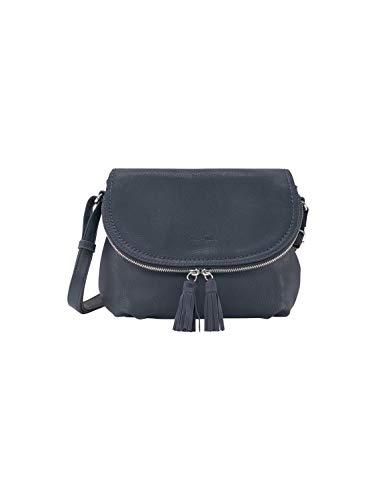 TOM TAILOR Damen Taschen & Geldbörsen Umhängetasche mit Quasten-Detail blue,OneSize