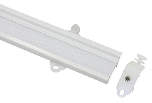 Gardinia Paneelwagen 60 cm weiß 60, Aluminium, 60 x 2.9 x 0.5 cm