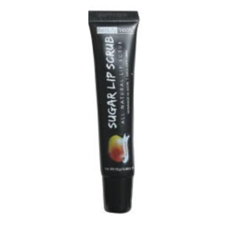 健康壁紙揮発性(6 Pack) BEAUTY TREATS Sugar Lip Scrub - Mango (並行輸入品)