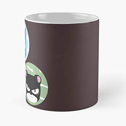 Tail Charle Wing Fairy Happy Pantherlily Lily Cat Exceed - Best 11 oz Kaffeebecher - Taza de café de regalo de moda superventas negra, blanca, cambia de color 11 onzas, 15 onzas para todos