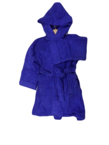 AJ Towelling Peignoir à capuche pour enfant 10 ans Bleu roi