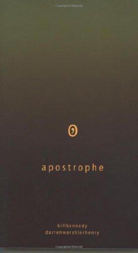 Apostrophe (English Edition)