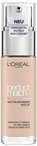 L'Oréal Paris Perfect Match Foundation, flüssiges Make-Up, deckend und feuchtigkeitsspendend für einen natürlichen Teint - 0.5R/0.5C rose porcelain (30 ml)