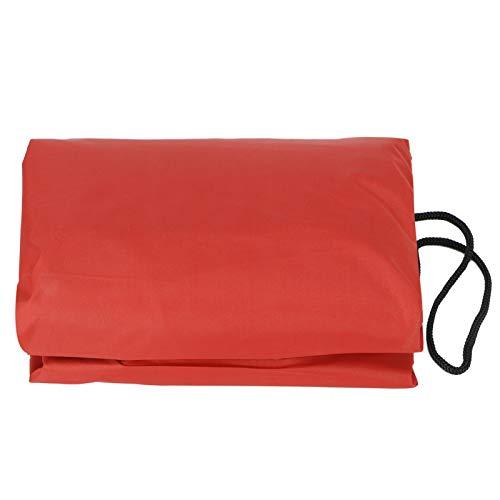 01 Suministros de Piscina, Cubierta Protectora de Piscina, Cubierta Impermeable Transpirable, pozos de Arena de Patio(Red, 200 * 200 * 20cm)
