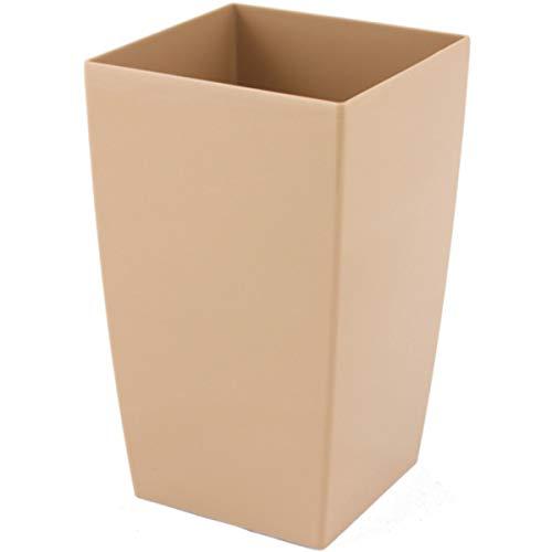 myBoxshop Pot pour orchidées - 2 litres - En plastique - Beige