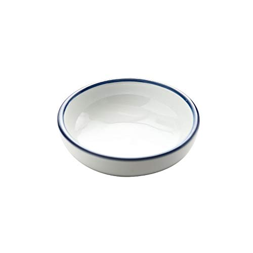 CCeramic Small Dish Sauce Salt Vinegar Flavor Spices Bowl Soy Fruit Seasoning Dishes Food Feeding Small Bowls Gift Tableware 1PCS