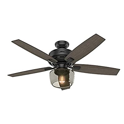 Hunter Fan Company 54187 Ceiling Fan, Large, Matte Black