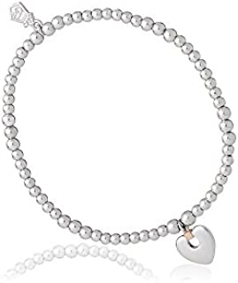 d7f7d729d Clogau Womens Ladies Clogau Silver And 9ct Rose Gold Cariad Expanding  Bracelet