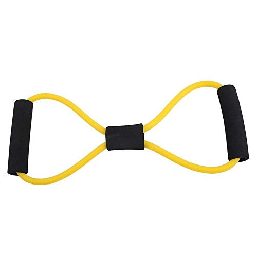 FEDUS Chest Expander Multicolor Resistance 8 Pulling Rope Bands Muscle Workout Stretcher Shoulder Exerciser Fitness Home Gym Equipment Latex Tube Hand Wrist Arm Gripper Exercise Equipment