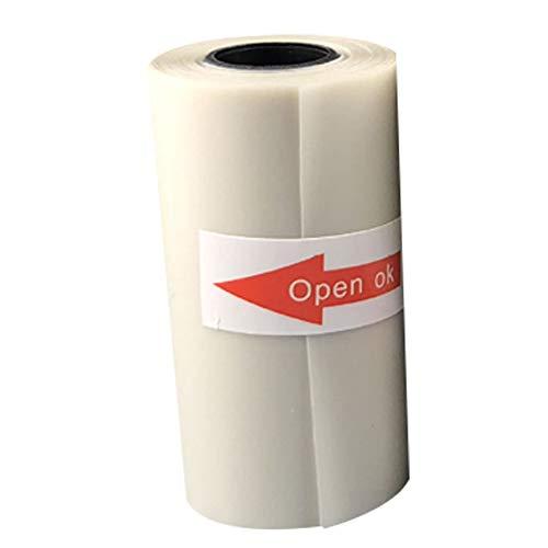 vimbhzlvigour Home Office Gadgets 57 x 30 mm halbtransparent Thermodruck-Rolle Papier für Paperang Fotodrucker multi