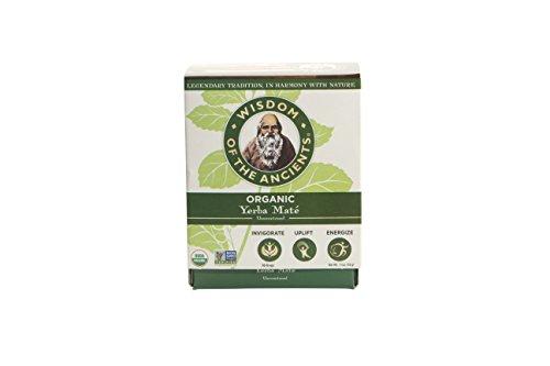 WISDOM OF THE ANCIENTS Organic Yerba Maté Tea Bags, 1oz