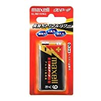 家電 電池 maxell(マクセル) 9V型アルカリ乾電池 ボルテージ006P 6LF22(T) 1B [並行輸入品]